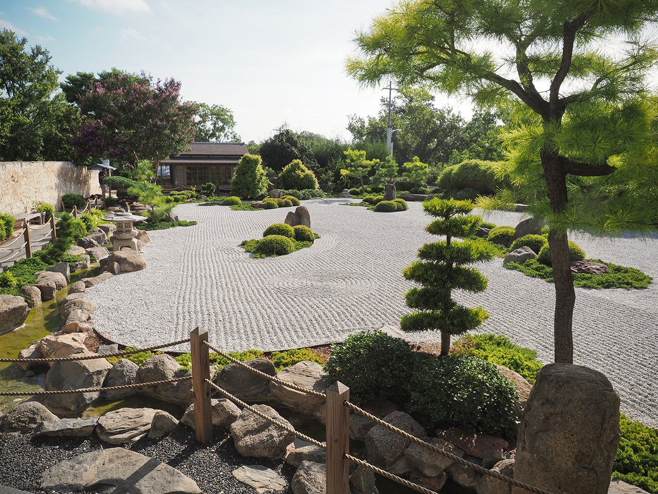 Japanese Garden of Peace at the National Museum of the Pacific War - Photo: Trish Rawls