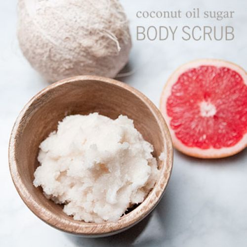 Coconut Oil Sugar Body Scrub