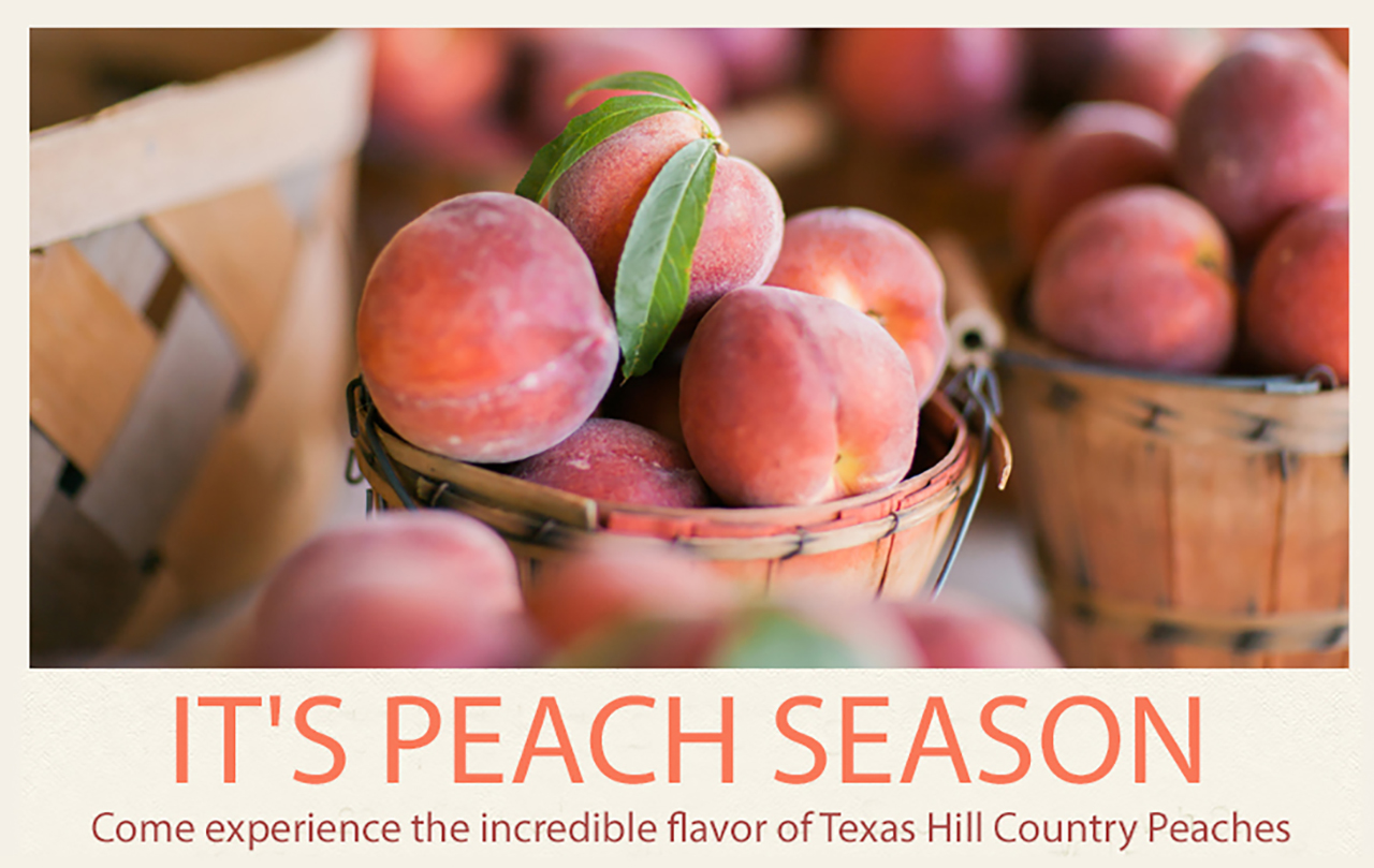 Texas Hill Country Peaches Are Here