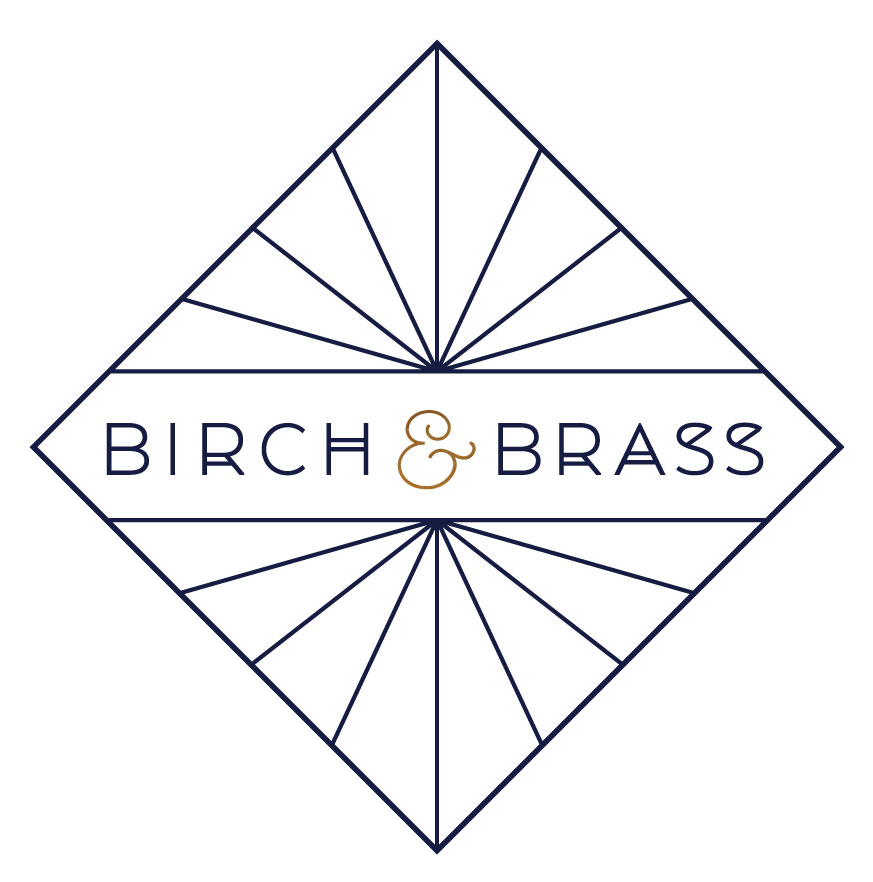 Primary Logo Birch and Brass