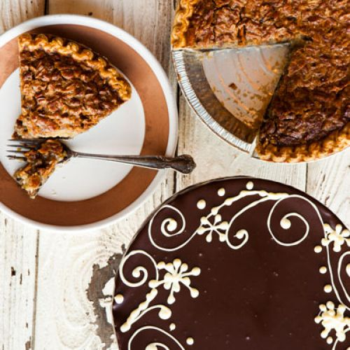 Black-Bottom Pecan Sweet Potato Pie