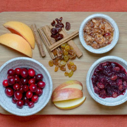 Cranberry Relish, Traditional and Cultured