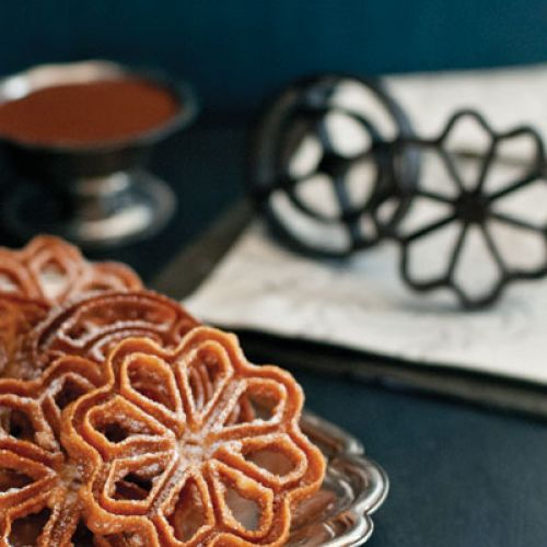 Florettas (Rosettes) and Chocolate