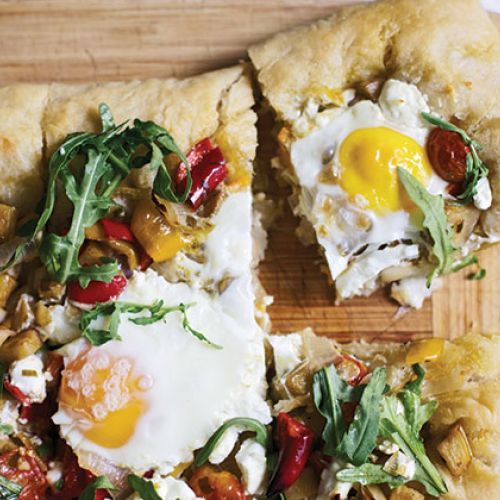 The Jacksons' Rooftop-or-Not Flatbread
