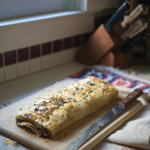 Pazili Börek (Savory Pie with Swiss Chard)