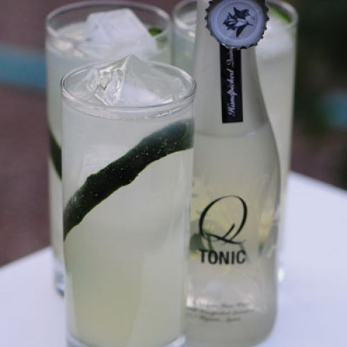 Q-Cumber Cocktail