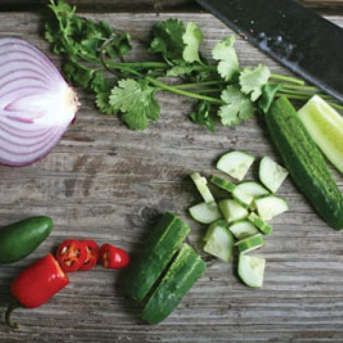 Thai Cucumber Relish
