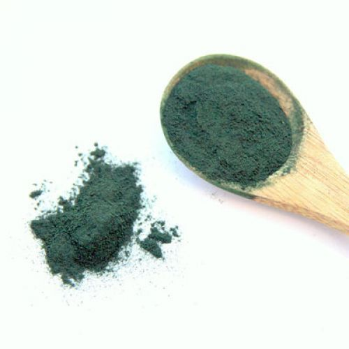 Kale with Spirulina