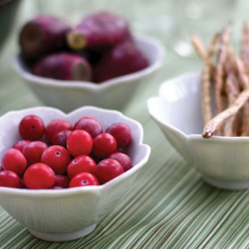 Baked Wild Plums
