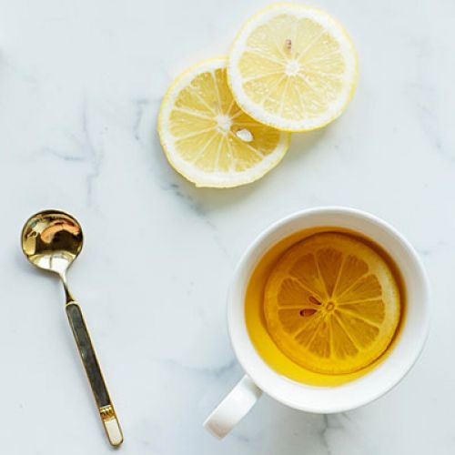 Hot Toddy with Infused Bourbon