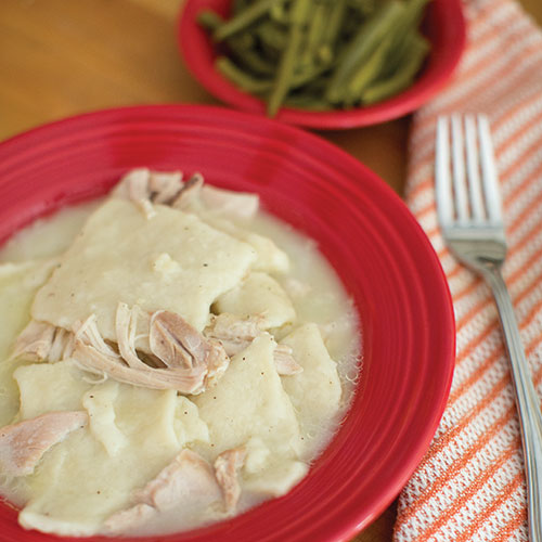 Mimi's Chicken and Dumplings, Salt Pork Green Beans
